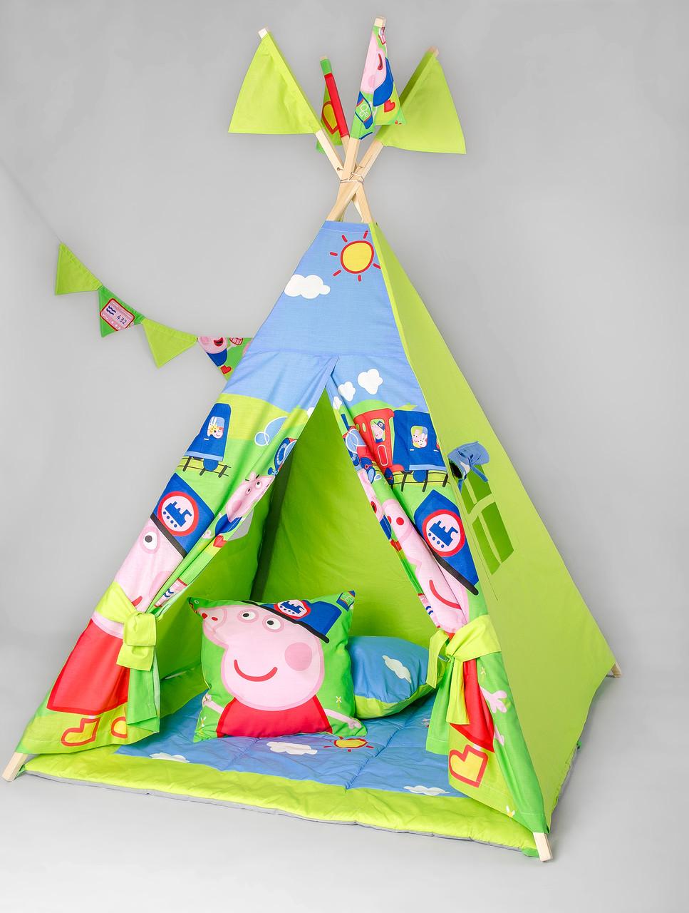 Вигвам - палатка  «Свинка Пеппа»