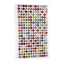 Набор из 260 разноцветных стразов 6мм DIY скрапбукинг нейл-арт декор
