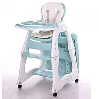 Детский стульчик-трансформер для кормления Prisma M 2429-12 голубой