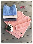 Модный женский свитер машинной вязки, цвет молочный, фото 4