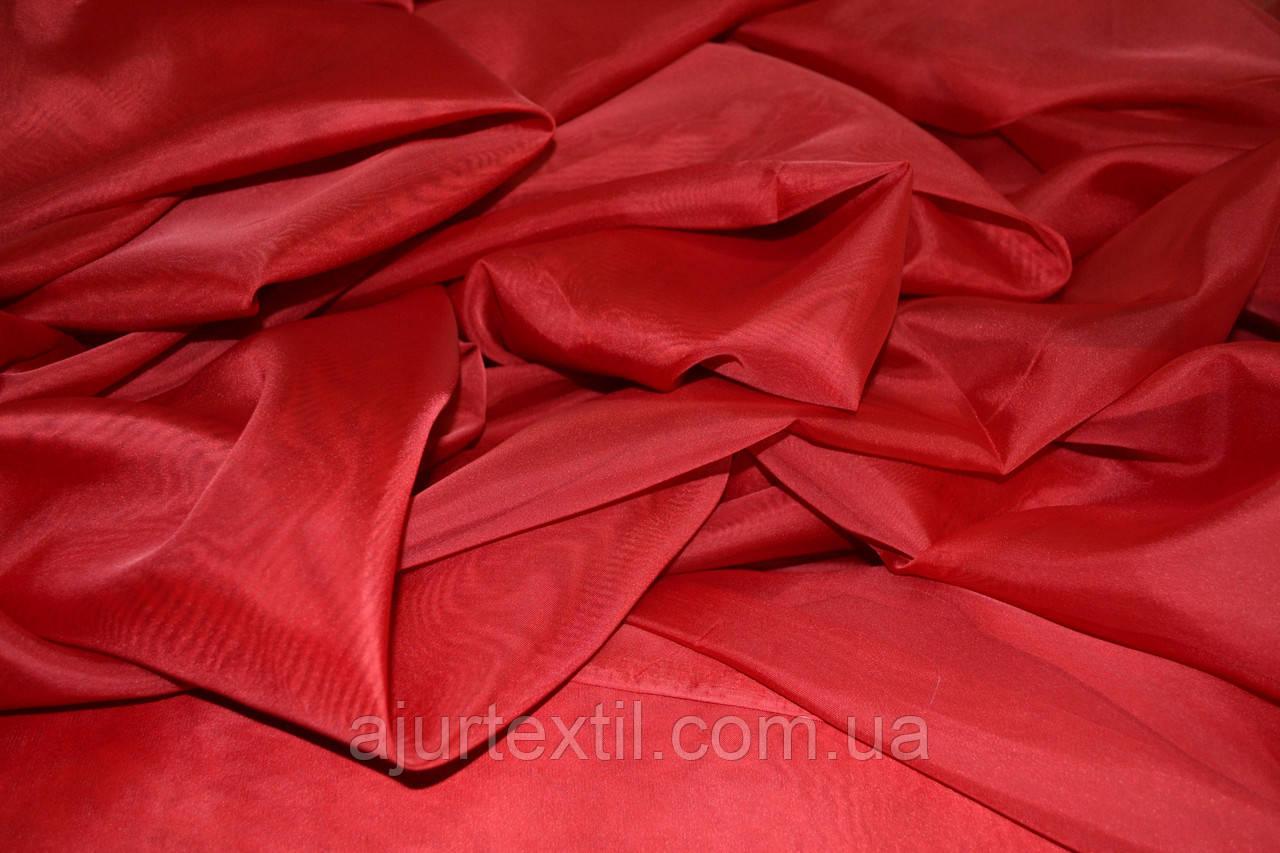Вуаль однотонный (красный)
