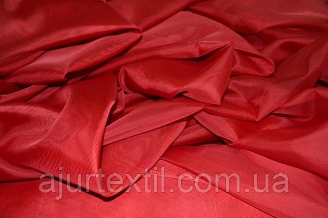 Вуаль однотонный (красный), фото 2