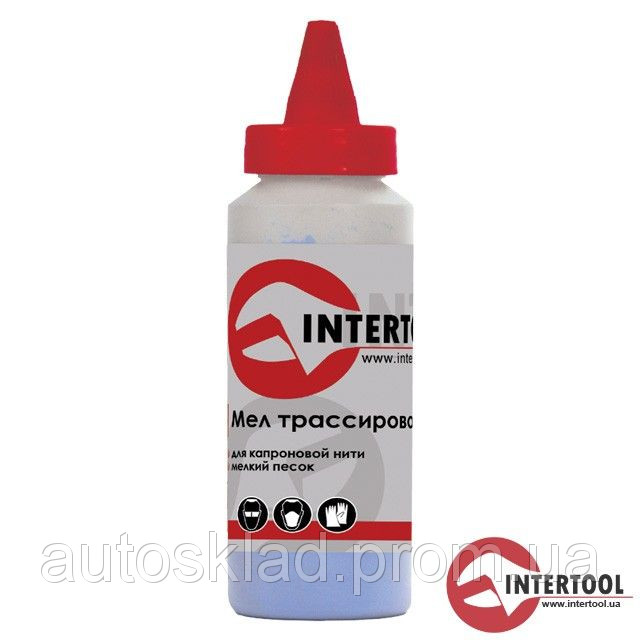 Мел трассировочный 115г., красный Intertool