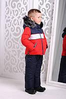 Зимняя детская куртка и комбинезон