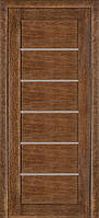 Шпонированные двери модель 137 дуб браун