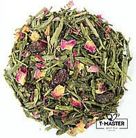 Зелений ароматизований чай Зелений з вишнею, 500 г