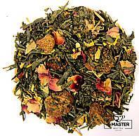 Зелений ароматизований чай Получничний мусс, 500 г