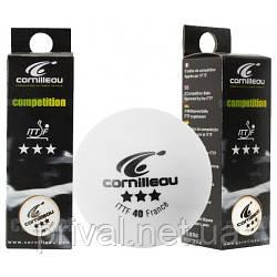 Мячи для настольного тенниса Cornilleau Competition ITTF 3 star