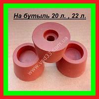 Пробка для гидрозатвора ø40-49mm,h=35mm ( резиновая №4) ,  с отверстием под гидрозатвор