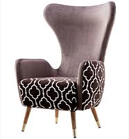 Мягкое кресло из велюра
