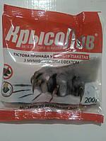 Крысолов, 200 г., тестовая приманка от крыс и мышей крисолов