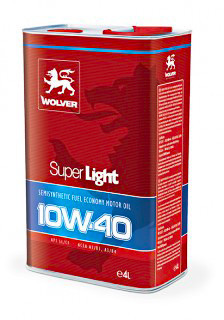 Масло Wolver Super Light 10W-40