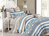 Семейный комплект постельного белья сатин (7814) TM KRISPOL Украина