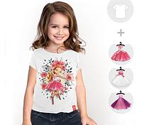 """Футболка детская со съёмными платьями """"Flower Dream"""""""