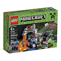 Лего Майнкрафт Пещера LEGO Minecraft The Cave 21113