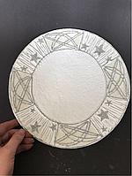 Тарелка глина Новогодняя, фото 1