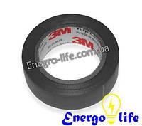 Изолента черная 10м 3М, GAV 633