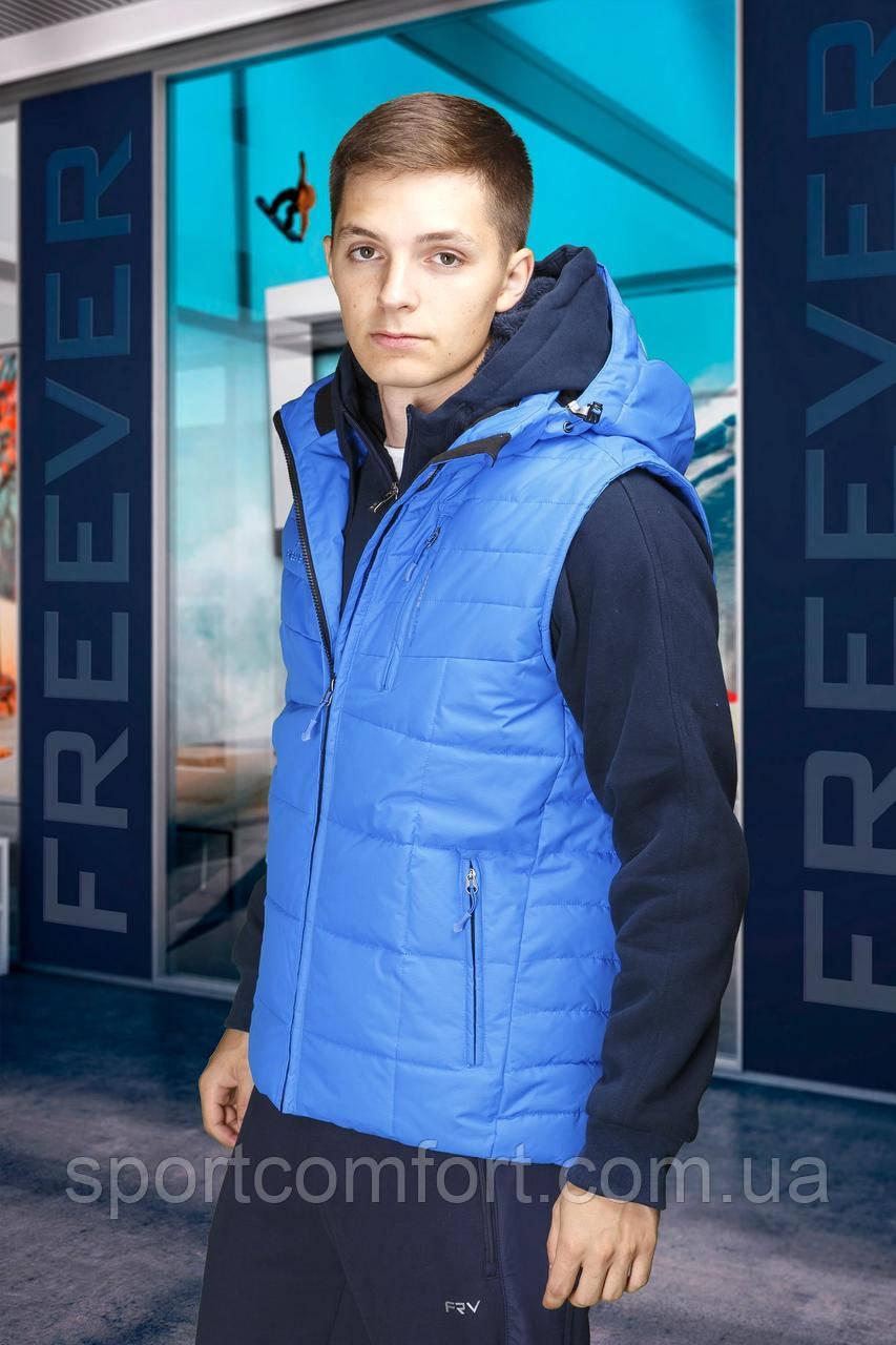 Жилет Freever Royal blue голубая