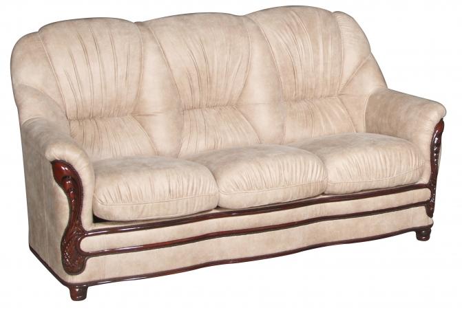 Прямой кожаный диван Кармен (180 см)