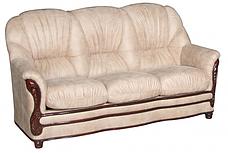 Прямий шкіряний диван Рубі, фото 2
