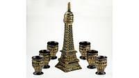 Винный набор Эйфелева башня, 7 предметов  набор Париж