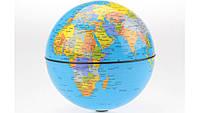 Глобус вращающийся круговорот 15 см, 4 цвета