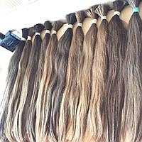 Волосы Натуральные ,на заколках,трессах Детские Волосы  60 см 100 грамм