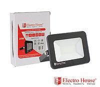 Прожектор светодиодный 20W 2000lm ElectroHouse холодный белый