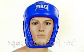Шлем Everlast закрытый детский S, M, L (полиуретан) красный реплика