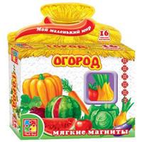 Детские мягкие магниты Огрод Vladi Toys VT3101-02