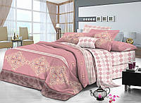 Семейный комплект постельного белья сатин (8164) TM KRISPOL Украина