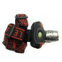 Фонарь светодиодный налобный (1 LED, 3xAAA)