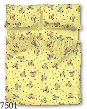 Комплект детского постельного белья бязь 110*150 см