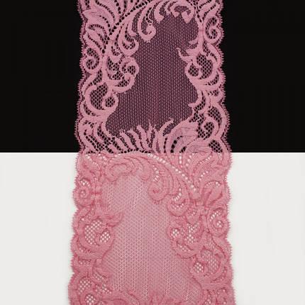 Кружево Италия арт.157 розовое, шир 14 см, фото 2