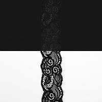 Кружево Италия арт.174 черное, шир 5,5 см