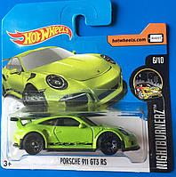 Базовая машинка Hot Wheels Porsche 911 GT3 RS