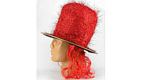 Шляпа Цилиндр с париком, 2 вида