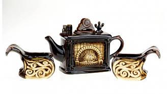 Набор чайный Камин, 3 предмета