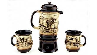 Чайный набор большой Тарас колорит, 4 предмета