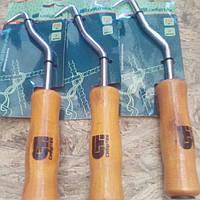 Крюк для вязки арматуры СИБРТЕХ, 210 мм, подшипник деревянная рукоятка СИБРТЕХ