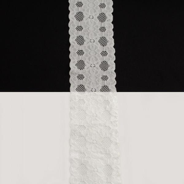 Кружево Италия арт.165 белое, шир 6 см, боб 10 м