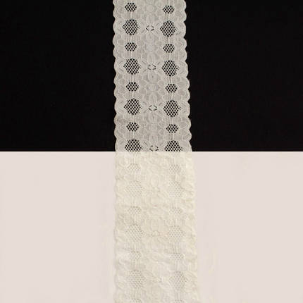 Кружево Италия арт.169 молочное, шир 6 см, боб 10 м., фото 2