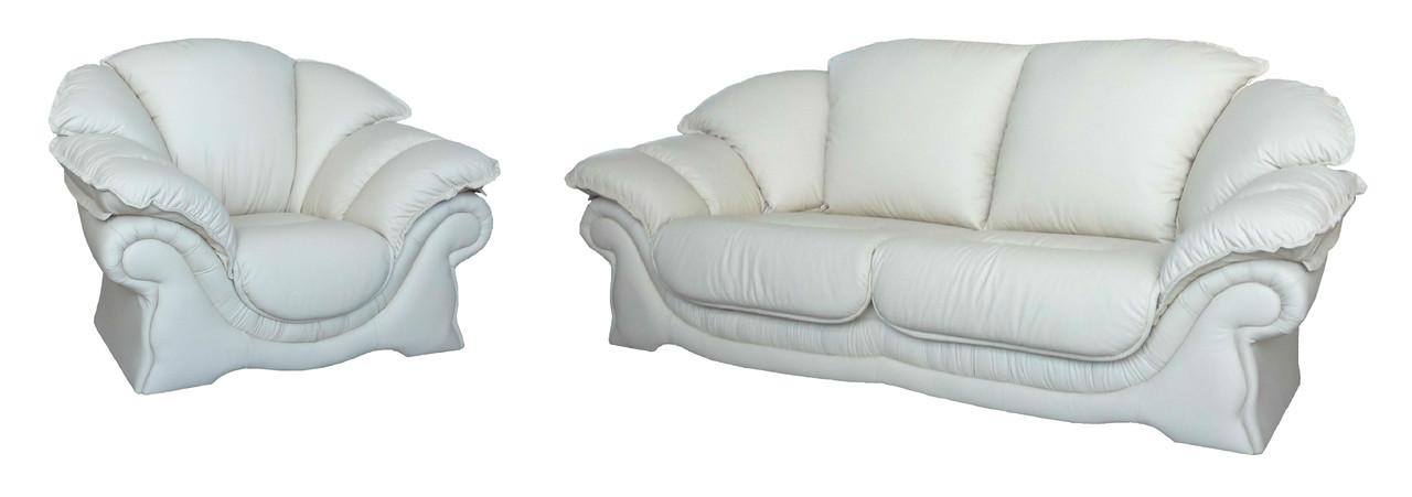 кожаный комплект мягкой мебели продажа цена в запорожье комплекты