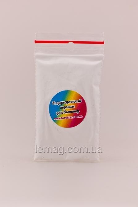Boni Kasel Пигмент флуоресцентный - Белый в пакетике, 1 шт.