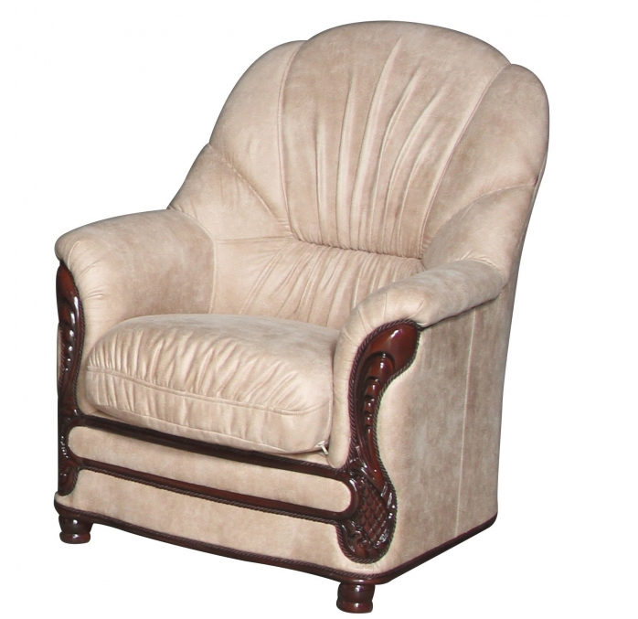 Кожаное кресло Руби (80 см)