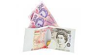 Бумажник пачка фунтов стерлингов