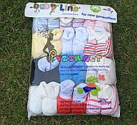 Пинетки велюровые упаковка (12 пар)