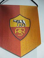Вымпел  футбольный с изображением герба FC ROMA