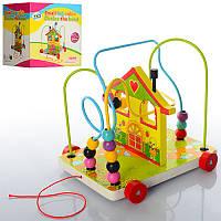 Деревянная игрушка Лабиринт E12547на проволоке
