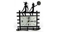 Часы Settler Пара на заборе,3456